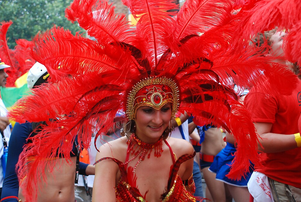 Notting Hill Carnival in London. by mojgan