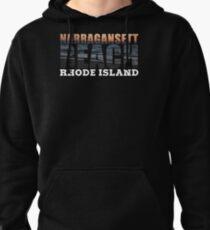Narragansett Beach, Rhode Island  Pullover Hoodie