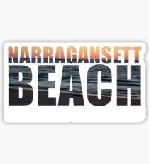 Narragansett Beach, Rhode Island  Sticker