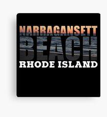 Narragansett Beach, Rhode Island  Canvas Print