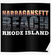 Narragansett Beach, Rhode Island  Poster