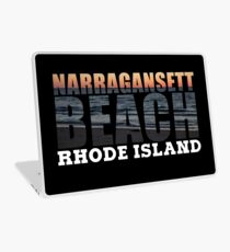 Narragansett Beach, Rhode Island  Laptop Skin