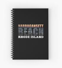 Narragansett Beach, Rhode Island  Spiral Notebook