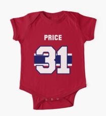 Carey Price #31 - red jersey Kids Clothes