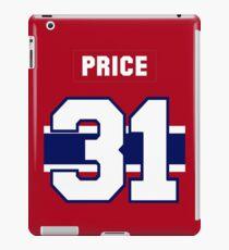 Carey Price #31 - red jersey iPad Case/Skin