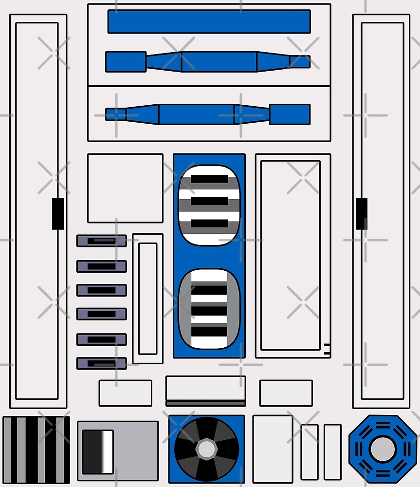 R2 D2 by TroyBolton17