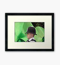 London policeman Framed Print