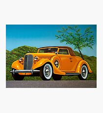 Lincoln K Convertible 1935 Painting Photographic Print