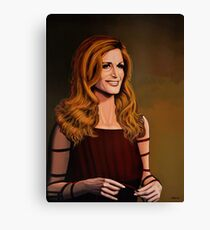 Dalida painting Canvas Print