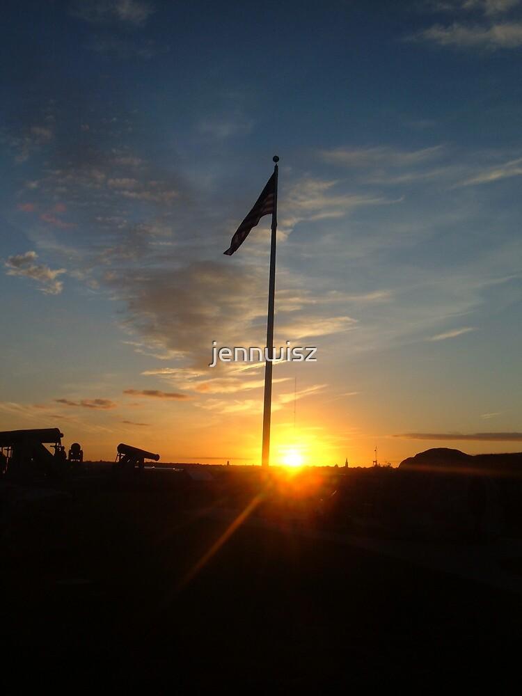 American Flag by jennwisz