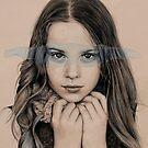 girl in grey by Sorina Williams