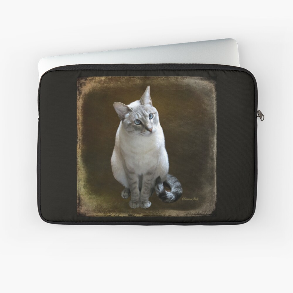 Lilac Point Siamese ~ Old Blue Eyes Laptop Sleeve