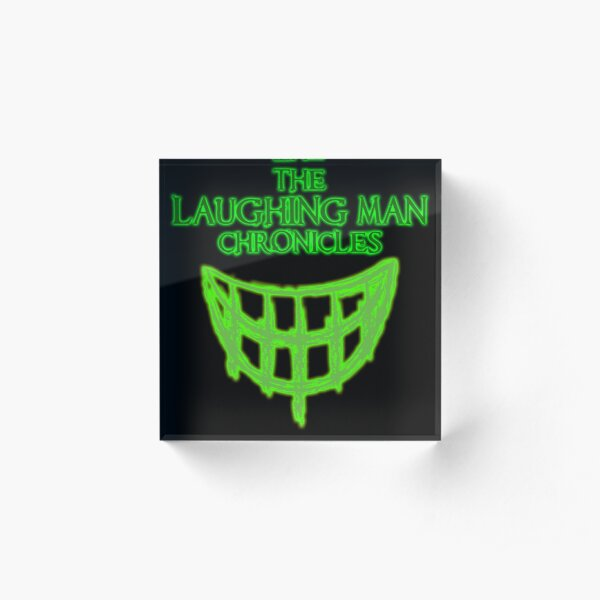 The Laughing Man Chronicles Acrylic Block