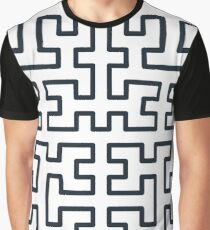 Hilbert Curve Graphic T-Shirt