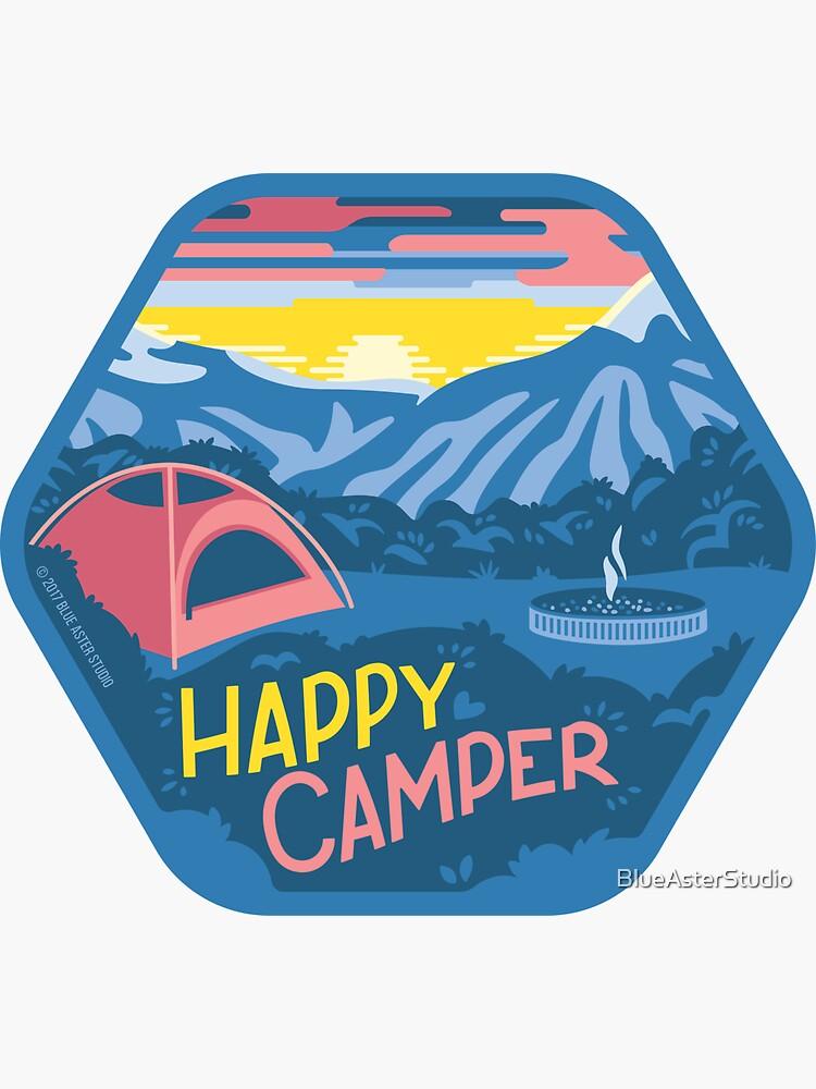 Happy Camper de BlueAsterStudio