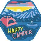 Happy Camper by BlueAsterStudio