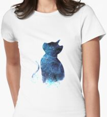 Blue Cat Women's Fitted T-Shirt