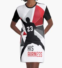 MJ - His Airness Graphic T-Shirt Dress