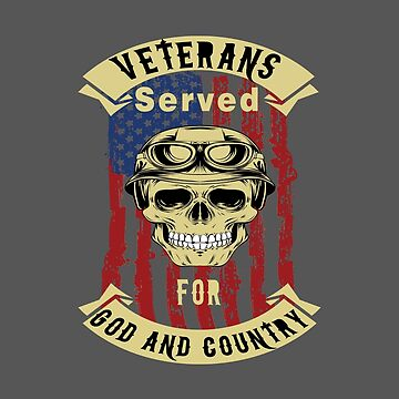 Veterans Served for God and Country by DBA-Dezines