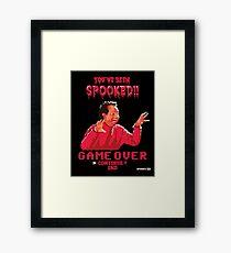 Spagett The Video Game Framed Print