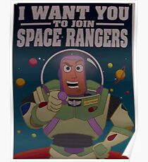 Andy's Buzz Lightyear Poster Poster