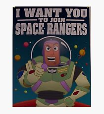 Andy's Buzz Lightyear Poster Photographic Print
