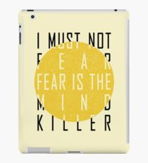 Dune - The Litany Against Fear iPad Case/Skin