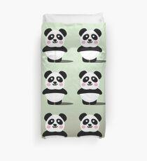 Kawaii Panda Pattern Duvet Cover