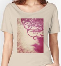 Bicycles Women's Relaxed Fit T-Shirt