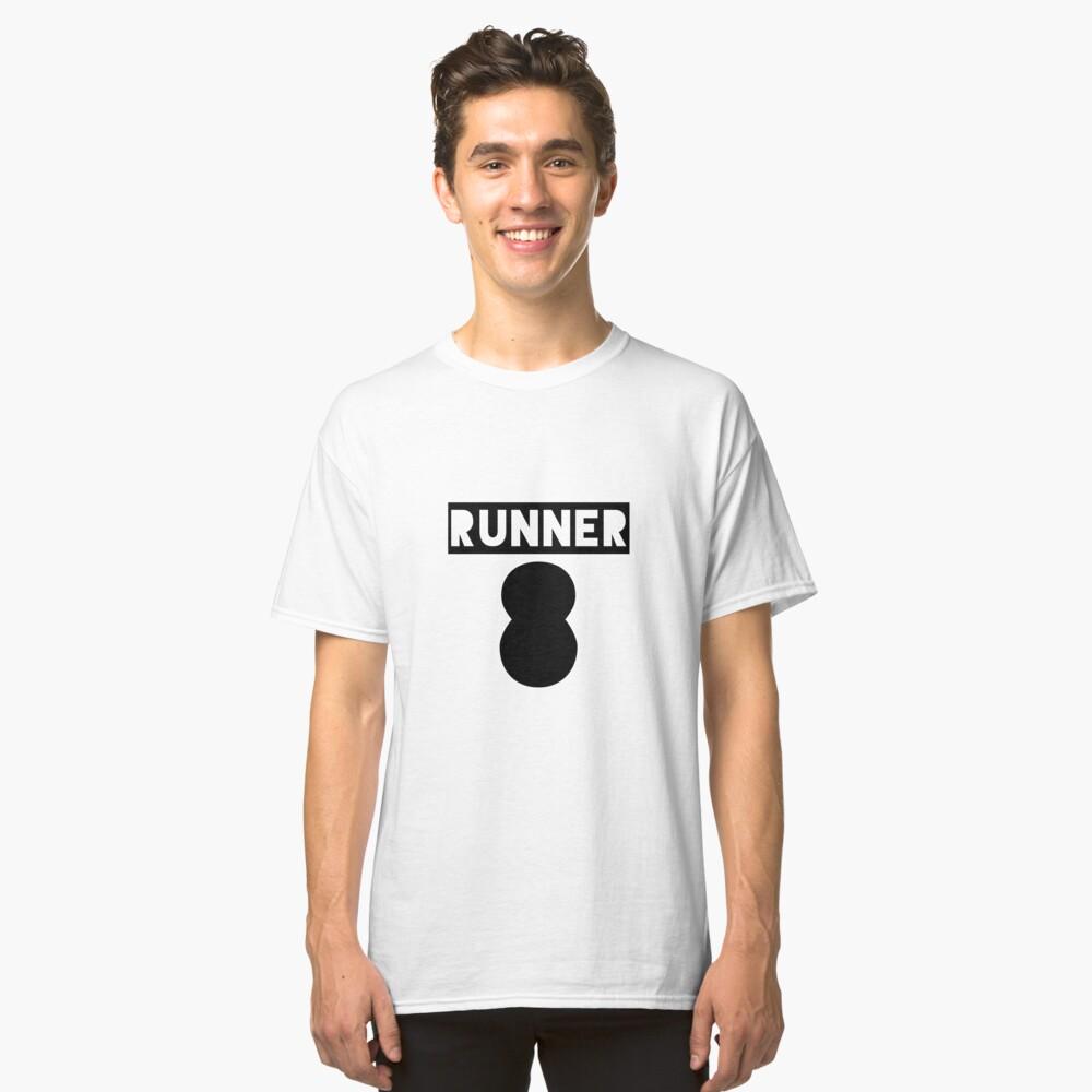 RUNNER 8 - white Classic T-Shirt Front