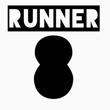 RUNNER 8 - white by Teayl