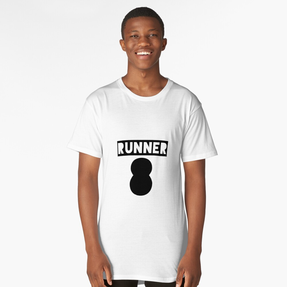 RUNNER 8 - white Long T-Shirt Front