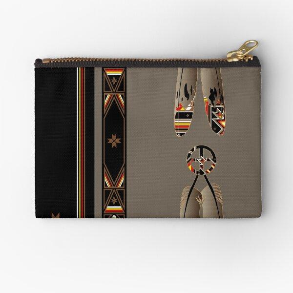Lakota Design Zipper Pouch