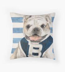 Butler Bulldog Throw Pillow