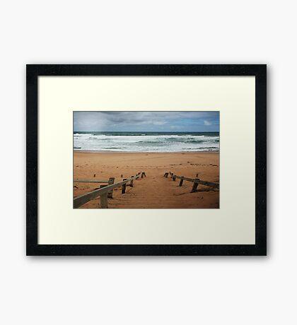 St Paul's beach,Mornington Pennisula,Victoria Framed Print