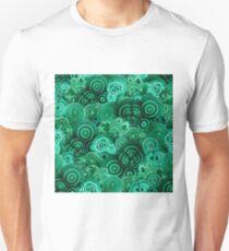 Malachite Swirls in Emerald Garden T-Shirt
