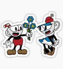 Teacuphead Sticker