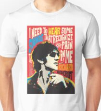 Richard Ashcroft Pop Art Quote Unisex T-Shirt