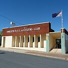 Tarcutta RSL & Citizens Club by David Thompson