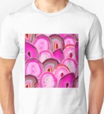 Geode Slices No. 2 in Hot Pink T-Shirt