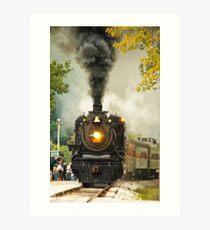 Full Steam Ahead Art Print