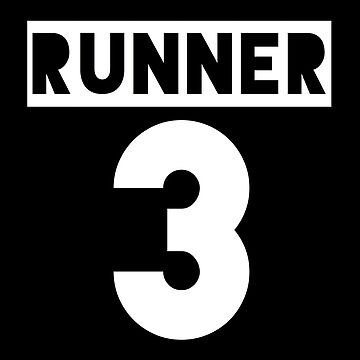 RUNNER 3 - black by Teayl
