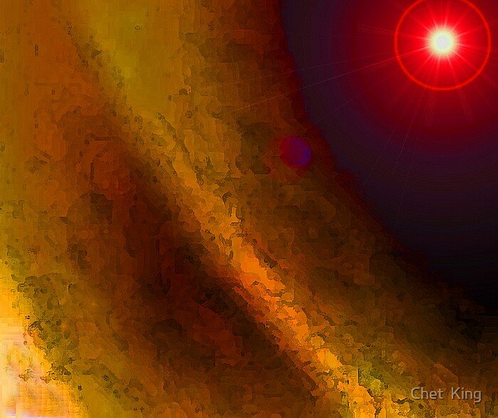 A Stellar Work by Chet  King