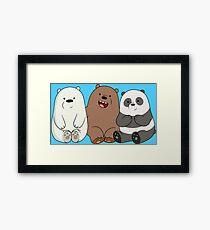 Baby Bears Framed Print