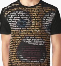 full bee movie script Graphic T-Shirt