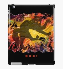 BOO! HALLOWEEN SCARY CAT iPad Case/Skin
