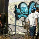 """This crew finished for today. It doesn't look """"tagged up"""".  Artists pride!  by leih2008"""