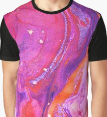 Neon Marble Graphic T-Shirt