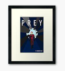 Prey ft. Markiplier Framed Print