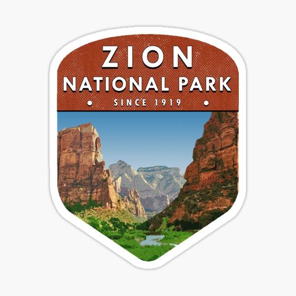 Zion National Park 2 Sticker